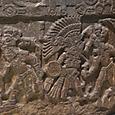 アステカ人が他の部族を捕えている所