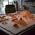 テノチティトラン(メキシコシテイ中央部)の神殿群