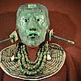 パレンケ『碑文の神殿』 パカル王の翡翠仮面