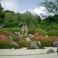 枯山水庭園 須弥山