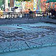 テスココ湖に築かれたアステカの王都