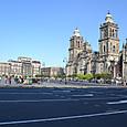 ソカロ広場とカテドラル