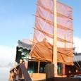 百済大典を記念して観光船も改造