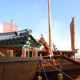 数年前はボロの観光船のみ