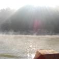 扶蘇山から朝日が昇る