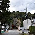 佐牙神社参道