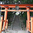 佐牙神社 鳥居は厳島神社の鳥居に似てる