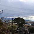 飯岡の渡し場跡と木津川