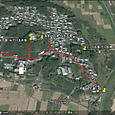 飯岡古墳群地図