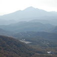 鬼面山山頂から磐悌山