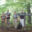御坂山山頂にて G4記念写真