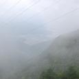 霧の彼方に河口湖