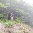 黒岳尾根を歩くG4