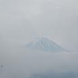 黒岳から観る富士 ハエが飛んでいます
