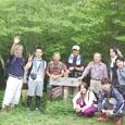 黒岳山頂 赤坂メンバーと