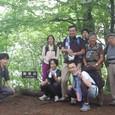 御坂山山頂にて記念写真