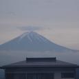 夕闇迫る富士
