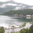 黒岳と河口湖