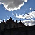 サンパブロ教会 ミトラ遺跡の上に築かれた