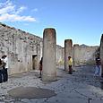 ペゼラオの宮殿の円柱ホール
