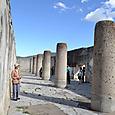 ぺゼラオの宮殿の円柱ホール