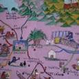 オアハカ近辺の絵地図
