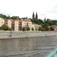 モルダウ川とプラハの街