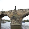 プラハ城への参道 カレル橋
