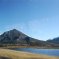 ランドレ山(Mt.Rundle)とVermillion湖