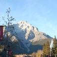 バンフ(Banff)の街角