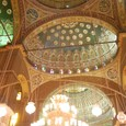 モスク内 天井装飾