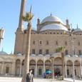 モスク前にて