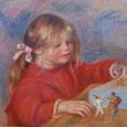 ルノワール おもちゃで遊ぶクロード