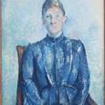 セザンヌ セザンヌ夫人の肖像
