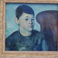 セザンヌ「画家の息子の肖像」