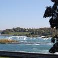 カナダ滝車窓