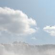 アメリカ滝とカモメ