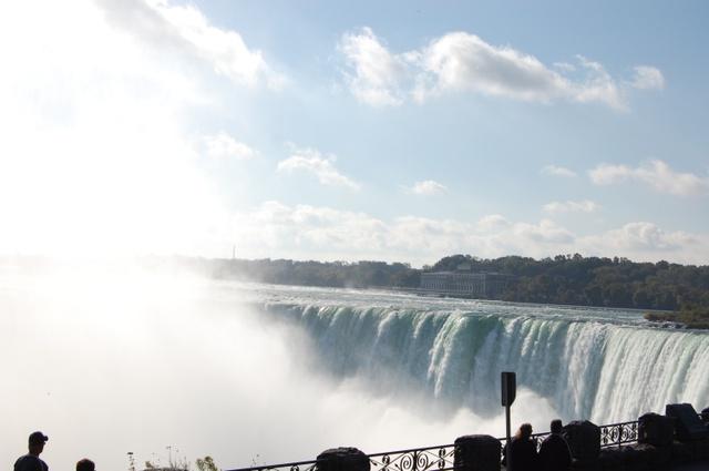カナダ滝と水煙