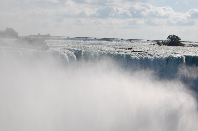 カナダ滝と水門