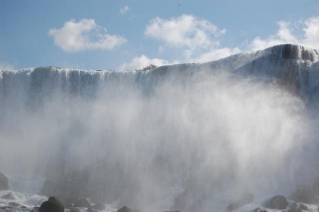 アメリカ滝と霧のベール