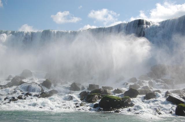 アメリカ滝の威容