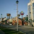 モーテルと歓楽街