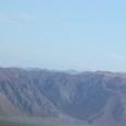 ナスカ台地の山々