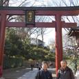 根津神社 記念撮影