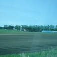 サイロと畑
