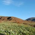 旧土湯峠から鬼面山と箕輪山