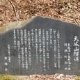 重要文化財 天城山隧道碑