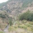 七滝温泉の渓谷
