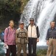 初景滝記念写真