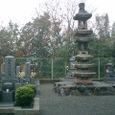 墓地 石塔